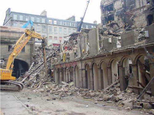 Cowgate Fire Site, Edinburgh